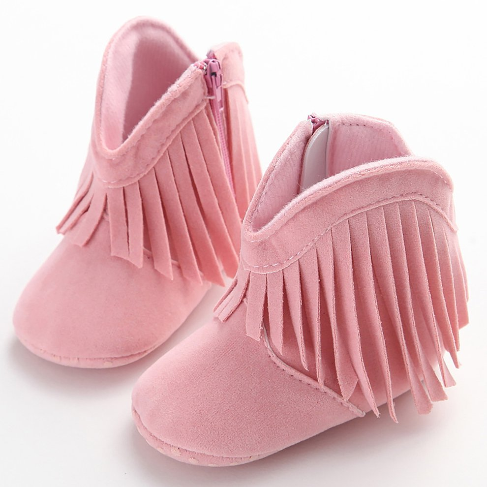 C-65 Newborn Baby Girl Shoes Middle