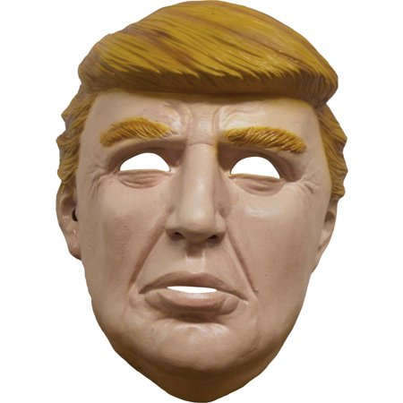 Hillarious Donald Trump Political Presidential Full Head Mask, One-Size