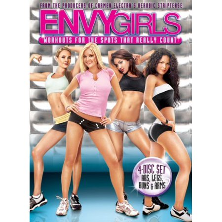 Envy Girls: Workouts For The Spots That Really Count (Full (Full Body Workout Routine At Home Without Equipment)