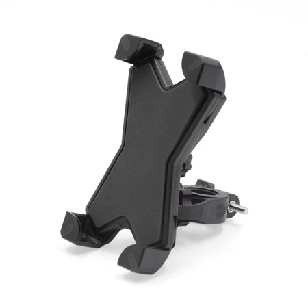 Black Adjustable Motorcycle Scooter Handlebar Cell Phone GPS Mount Holder  Stand