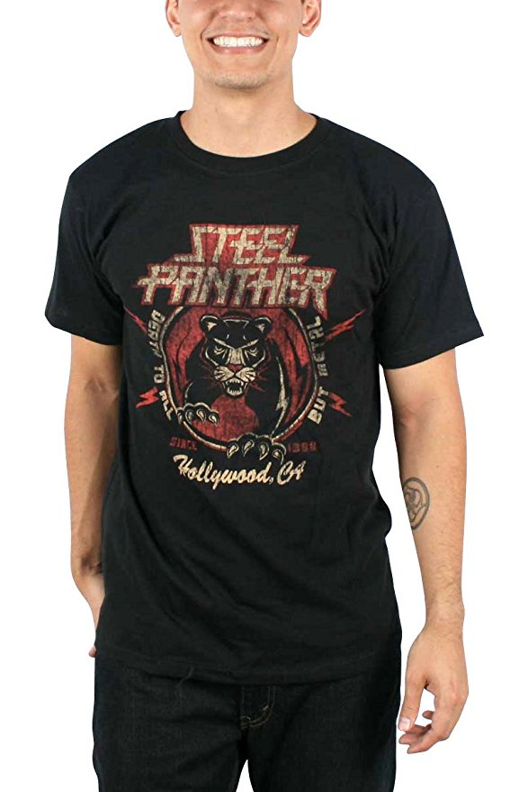 NEW /& OFFICIAL Steel Panther /'Death To All/' T-Shirt