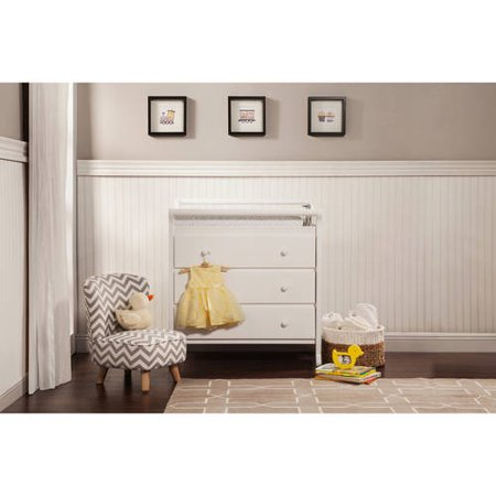DaVinci Emily 3-Drawer Changer Dresser, Choose Your Finish