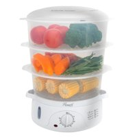 Deals on Rosewill RHST-15001 9.5-Quart (9L), 3-Tier Food Steamer