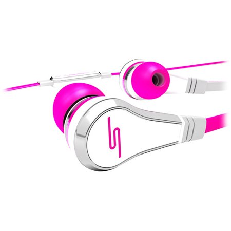 SMS Audio STREET by 50 Wired Ear Buds, Pink (Sms Audio Street By 50 On Ear)