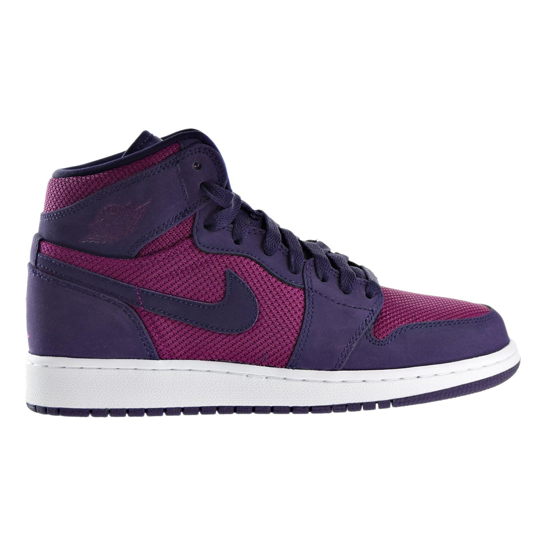 75dc3bb295fb61 1 b3133 d1675  greece jordan air jordan 1 retro high kids true berry purple  dynasty white332148 608 walmart eef04