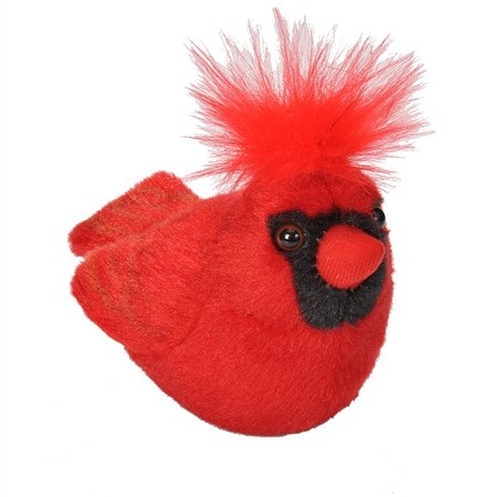 Sound Stuffed Audubon Bird - Wild Republic - Audubon II - Northern Cardinal - 5