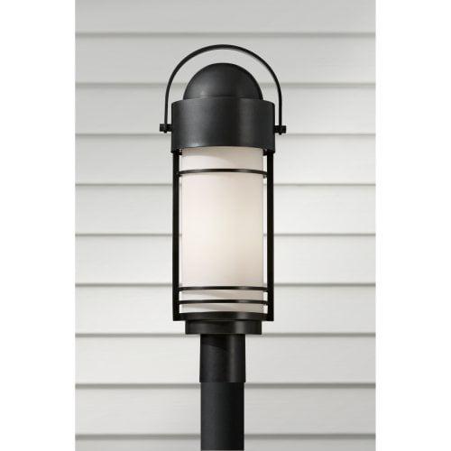 Feiss Carbondale OL8308DRC Post Lantern - 9W in. - Dark Chocolate