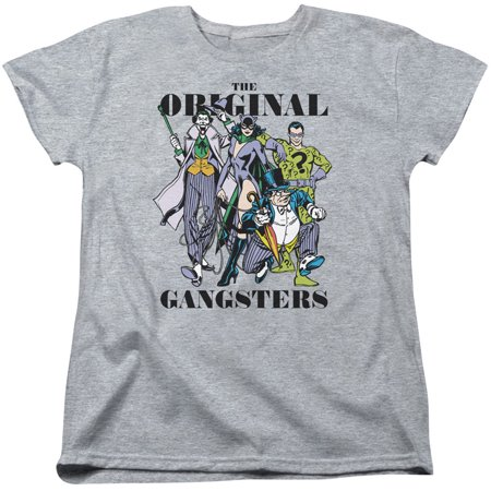 DC Comics  Original Gangsters Girls Jr Athletic Heather - Gangsta Girls