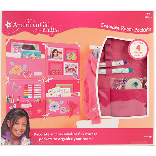 American Girl Room Pockets Kit, Pink