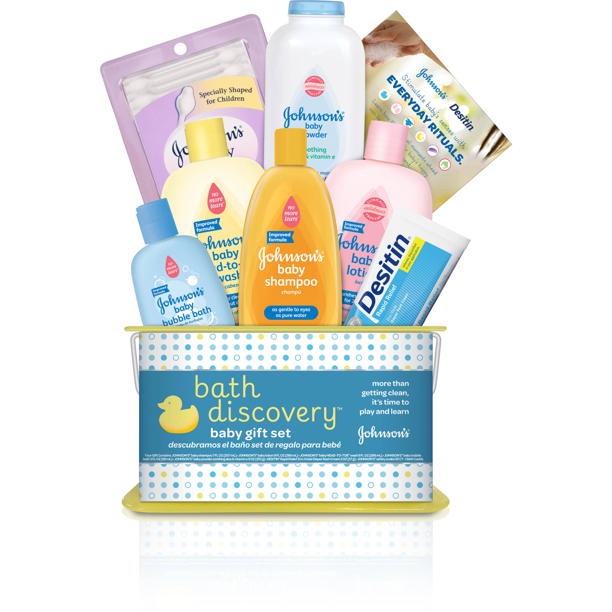Johnson's bath discovery baby gift set, 8 Items
