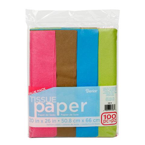 Darice Tissue Paper Fashion Art 100pc