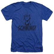 Saturday Night Live SNL Schwing Mens Heather Shirt