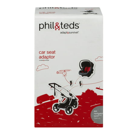 Phil & Teds TS 26 V3 Car Seat Adaptor, 1.0 CT