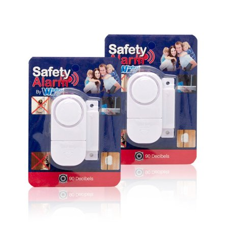 Best Wireless Loud and Discreet Mini Entry Alarm Sensor and Battery
