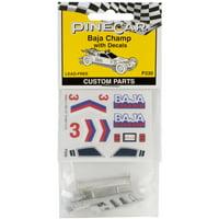 Pine Car Derby Custom PartsBaja Champ