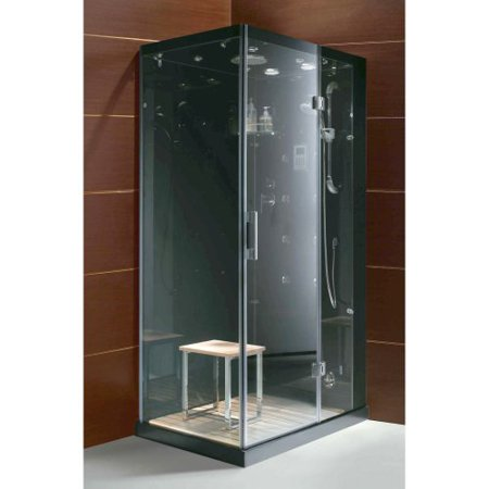 Steam Planet M6020 43W x 86H in  Clear Glass Steam Shower