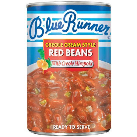 (6 Pack) Blue Runner Creole Cream Style Red Beans With Creole Mirepoix, 26 (The Best Runner Beans To Grow)