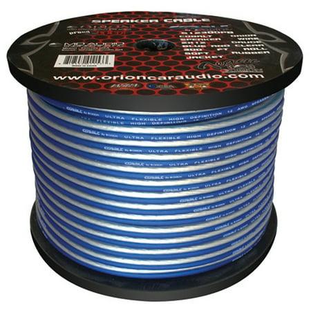 Cobalt Orion Speaker Wire 12 Gauge Blue/Clear 300ft ()