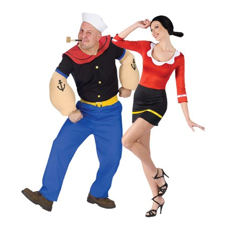 Popeye and Olive Oyl Costume Set](Costume Popeye And Olive)