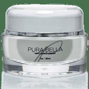 Pura Bella Anti Aging Cream - Boosts Collagen & Elastin Production, Eliminates Wrinkles & Fine Lines, Diminishes Crow's Feet & Dark Spots, Improves Skin Hydration & Suppleness - 1oz/30ml