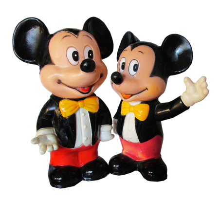 LAMINATED POSTER Cut Out Mickey Mouse Poster Print 24 x 36 - Mickey Mouse Cut Out