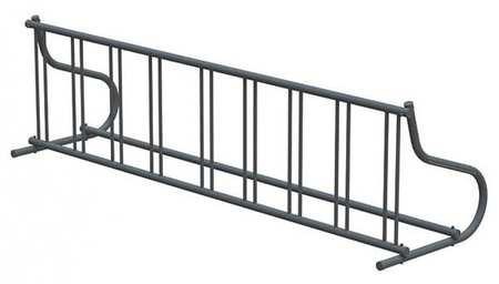 "110"" Single Sided Bike Rack, Black ,Madrax, GR116-B by MADRAX"