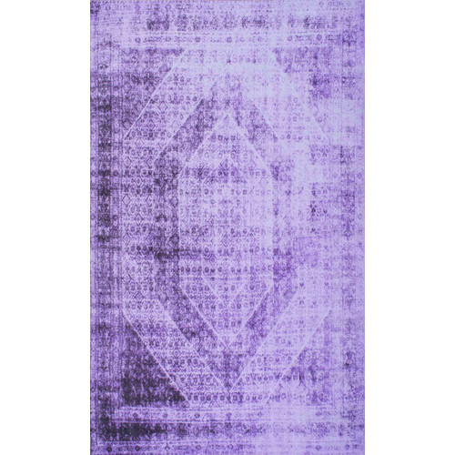 nuLOOM Overdyed Purple Area Rug