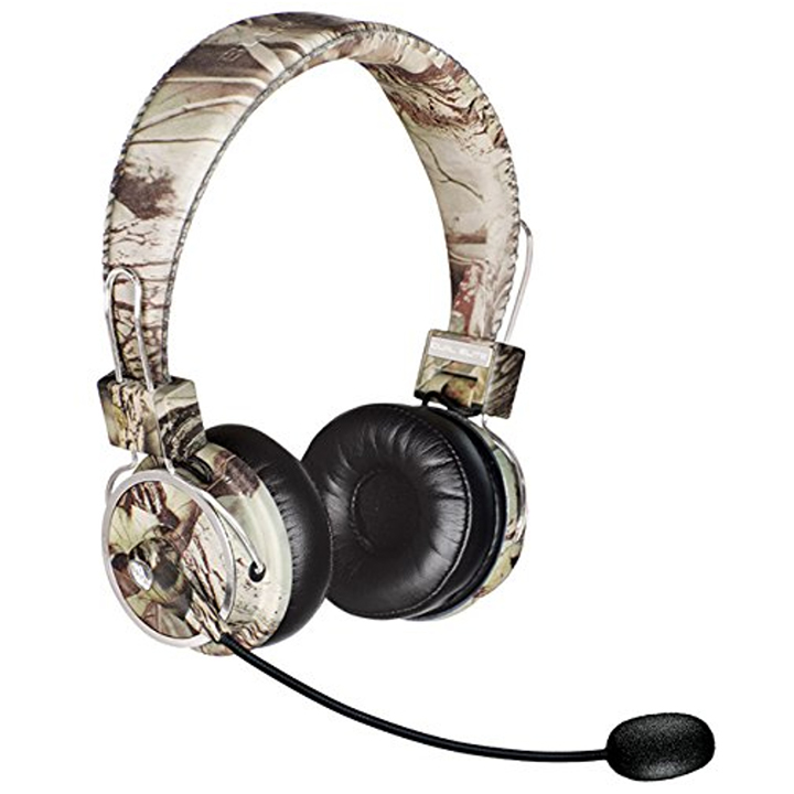 Blue Tiger Dual Elite Premium Bluetooth Headset Tree Camo by BLUETIGER