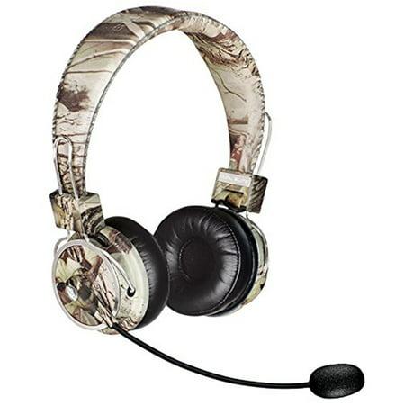 - Blue Tiger Dual Elite Premium Bluetooth Headset - Tree Camo