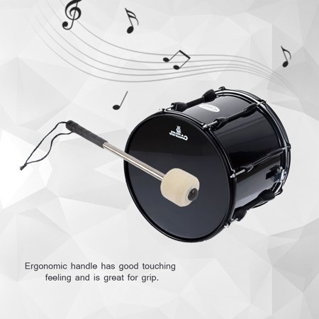 yosoo drum stick durable bass drum mallet drumstick with wool felt head percussion marching band. Black Bedroom Furniture Sets. Home Design Ideas