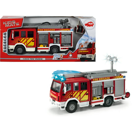 Dickie Toys International Iveco Fire Engine, Try Me (11