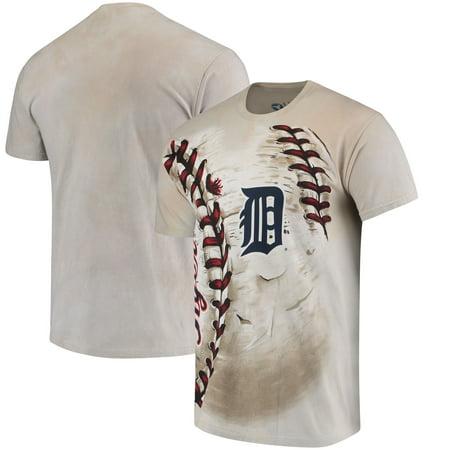Detroit Tigers Hardball Tie-Dye T-Shirt - Cream