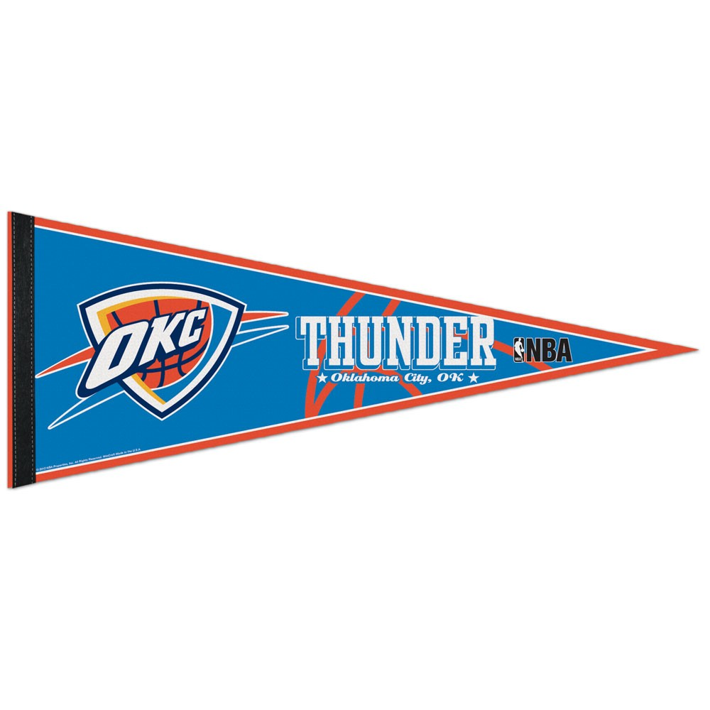 Oklahoma City Thunder Official NBA Wall Pennant by Wincraft