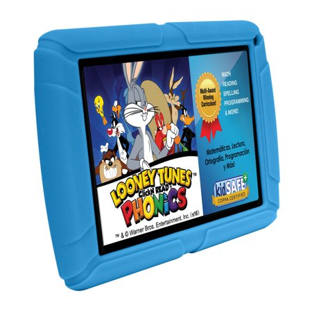 HighQ Learning Tab Jr. 7u0022 Kids Tablet, 8GB Storage, Expandable Storage, Quad-Core Processor, Front Facing and Rear Camera, Blue