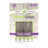 "Nature Gnaws Extra Thin Porky Sticks 5-6"", 50 Count"
