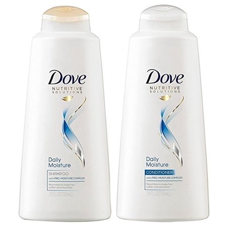 - Dove Nutritive Solutions Daily Moisture Shampoo & Conditioner Set 25.4 Fl Oz