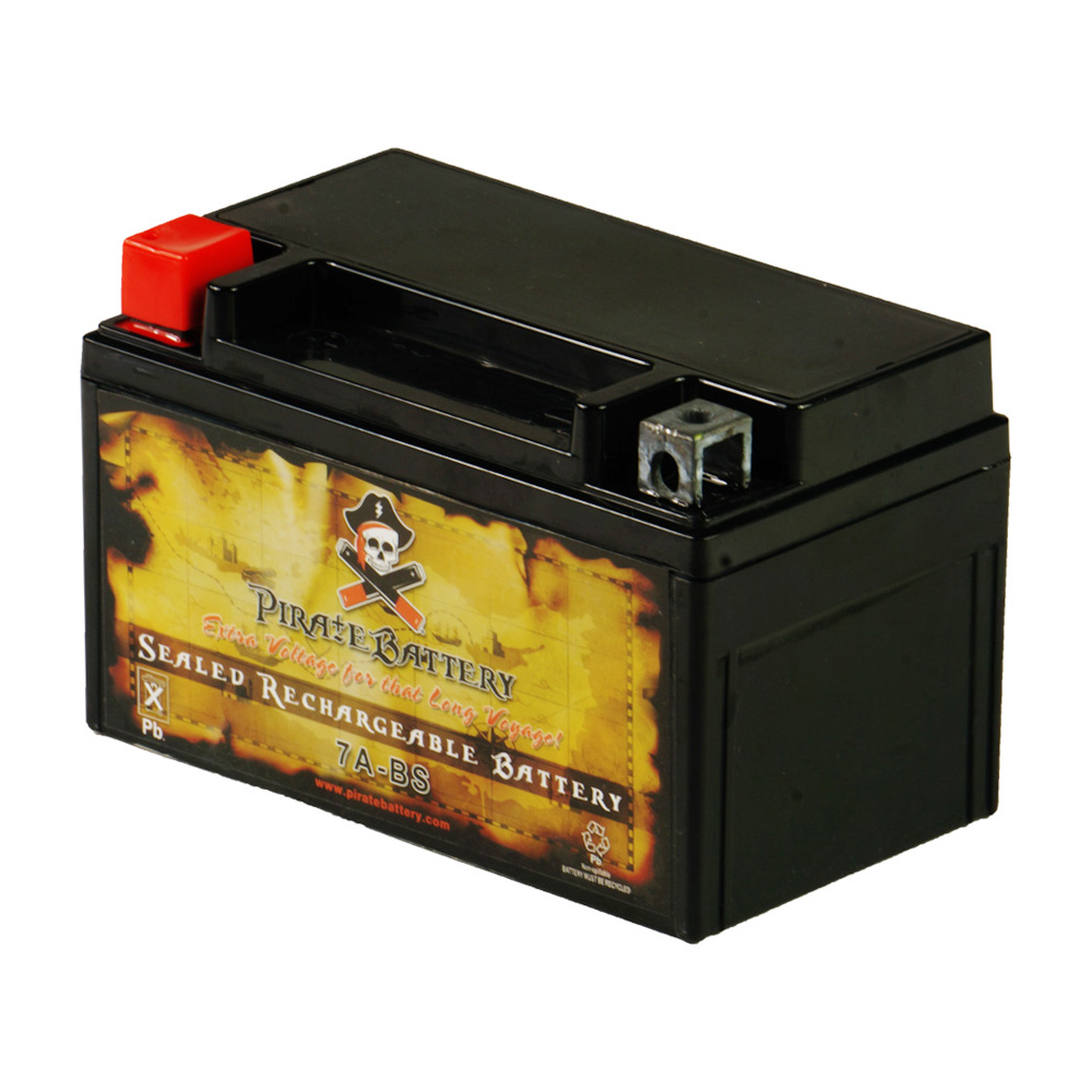 YTX7A-BS Motorcycle Battery for Kawasaki 250cc EX250 Ninja 250R 2009
