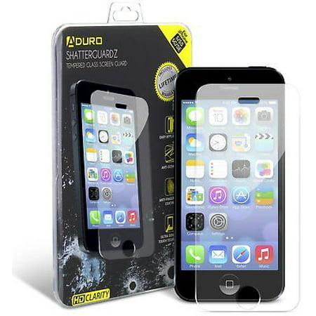 Iphone Se   5   5S   5C Aduro Shatterguardz Tempered Glass Screen Guard