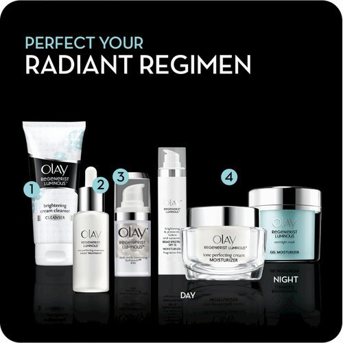 olay regenerist luminous before and after
