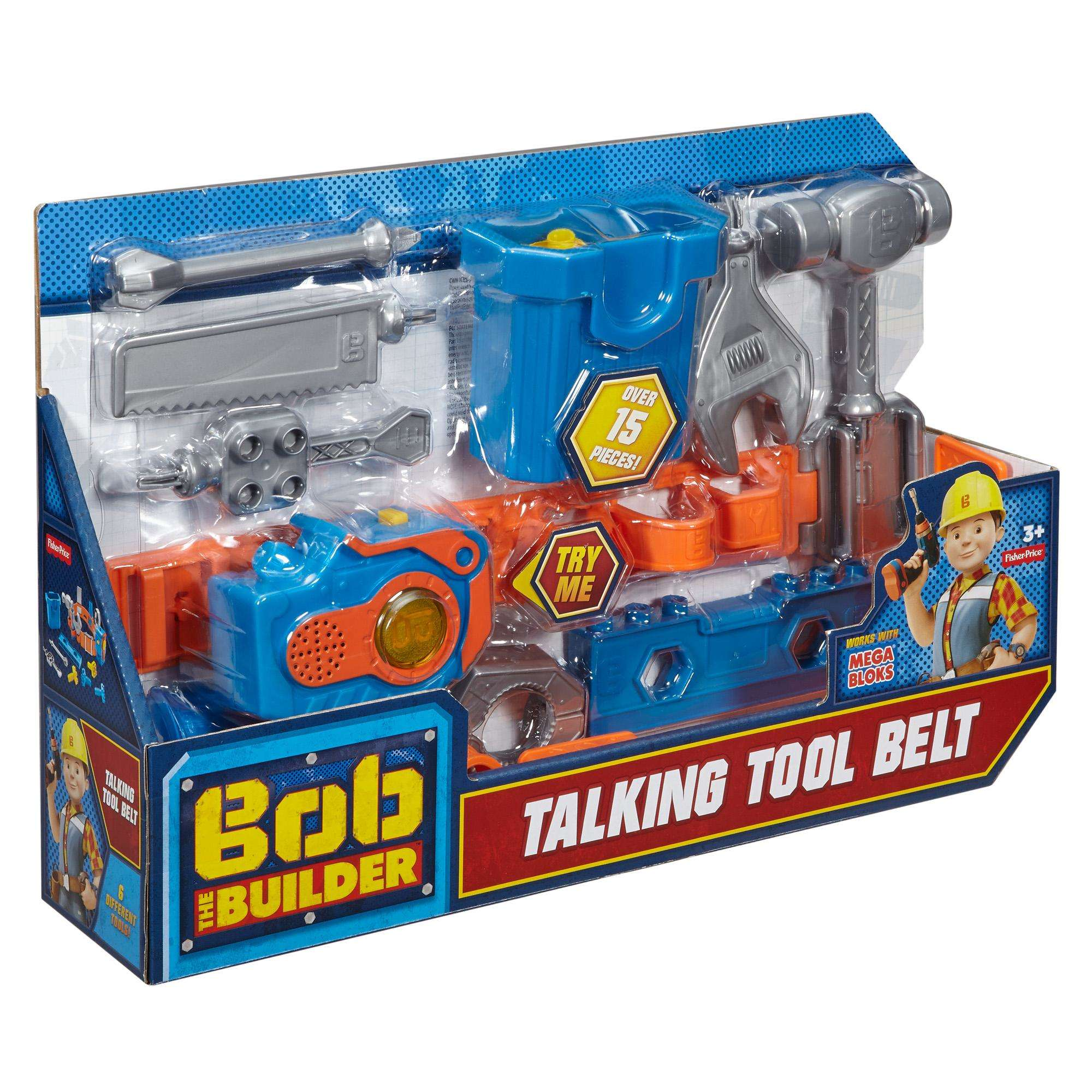 Bob the Builder Talking Tool Belt - Walmart.com