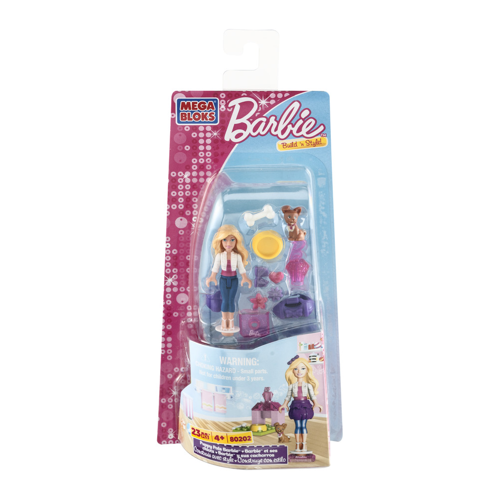 Mega Bloks Barbie Build 'n Style! - 23 Piece, 23.0 PIECE(S)