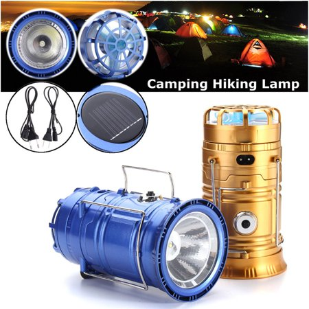 Image of 5W 3 in 1 Camping Light/Flashlight/Fan-Solar Power Outdoor Lantern Hanging Camping Hiking Fishing Light Light Rechargeable Flashlight Fan Tent Lighting Bulb(26.5cmx22.7cmx9.8cm)