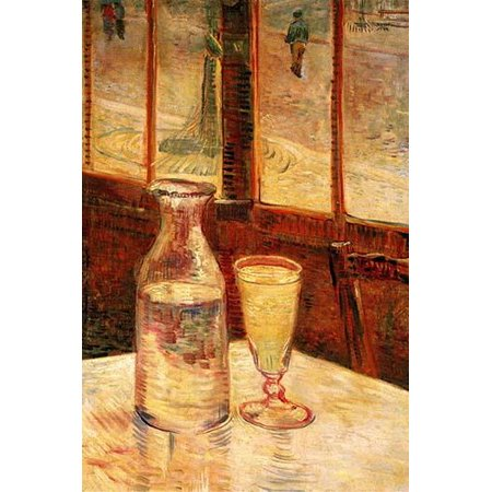 The Still Life with Absinthe  High quality vintage art reproduction by Buyenlarge  One of many rare and wonderful images brought forward in time  I hope they bring (Autofocus Still Image)