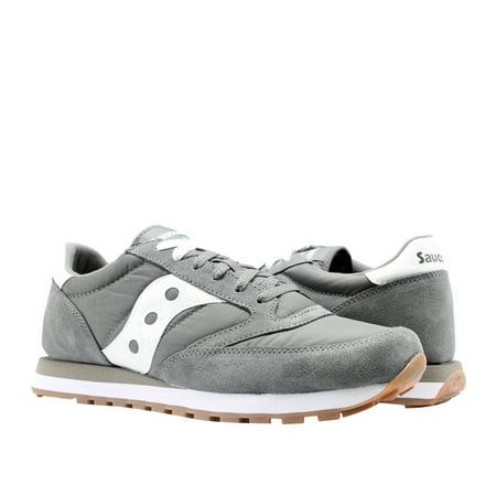 timeless design 88de8 4f83e Saucony Jazz Original Grey/White Men's Running Shoes S2044-434