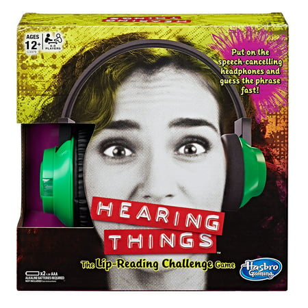 Hearing Things Game, Ages 12 and up, For 4-8