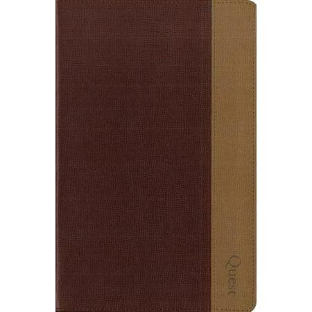 NIV Quest Study Bible (NIV, Burgundy/Tan Italian Duo-Tone) - image 1 de 1