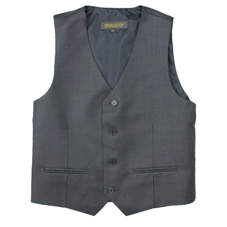 Spring Notion Big Boys' Two Button Suit Vest, -