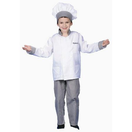 dress up america deluxe chef boy dress up children 39 s costume set. Black Bedroom Furniture Sets. Home Design Ideas