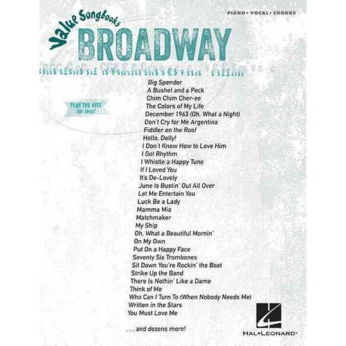 Broadway: Piano / Vocal / Chords