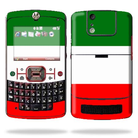 Mightyskins Protective Skin Decal Cover for Motorola Q9C or Q9M Cell Phone Sticker Italian